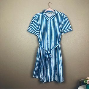 Loft striped summer dress